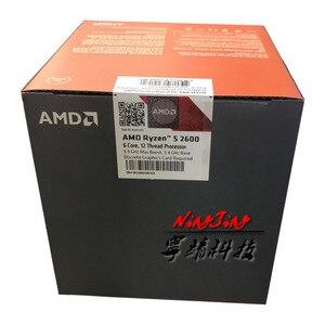 Image 3 - AMD Ryzen 5 2600 R5 2600 ГГц шесть двенадцать нить Процессор процессор YD2600BBM6IAF разъем AM4