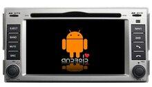 S160 Quad Core  Android 4.4.4 car audio FOR HYUNDAI SANTA FE(2007-2011) car dvd  player head device car multimedia car stereo