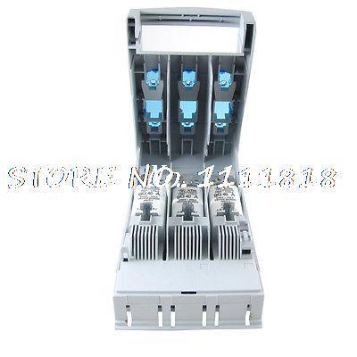 400/660/500VAC 40A 3 pôles fusible déconnexion Isolation interrupteur isolateur