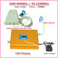 LCD Display Dual Band GSM 3G FDD LTE Cellular Signal Booster GSM 900 3G UMTS 2100 Mobile Amplifier WCDMA 2100 Repeater Extender