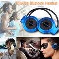 Mini503 Neckband Esporte Fone de Ouvido Sem Fio fone de Ouvido Bluetooth de alta Qualidade Dobrado Estéreo Fone De Ouvido Fone de Ouvido Suporte Tf