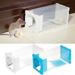 Home Rat Traps Mouse Pest Animal Mice Rodent Repeller Catch Bait Transparent Box SD-JQ