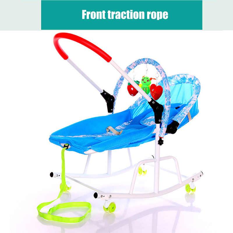 Детская колыбель IMBABY детское кресло-качалка для детей с музыкальным плеером детское кресло-качалка Детский самокат люлька детское кресло-качалка