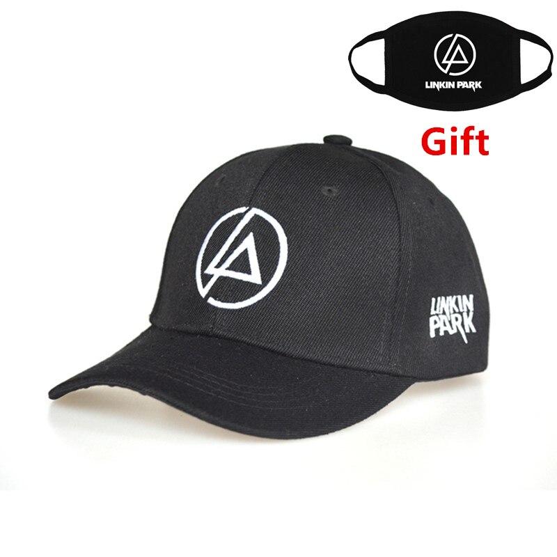 Linkin Park   baseball     cap   adjustable hip hop men women Rapper Bboy DJ dancer embroidered letter   cap