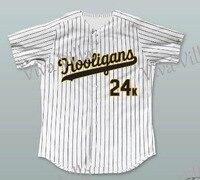 Hooligans 24k Baseball Jersey Bruno Mars 24K Throwback Baseball Jersey Stitched Men Baseball Jerseys Free Shipping