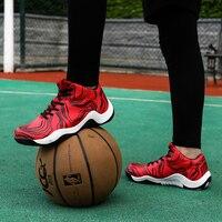 Men's Basketball Shoes Men Outdoor Athletic Combat Boots Sports Shoes Fashion Trainers Basket Femme Zapatillas Plus Size 39 45