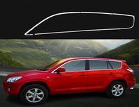 Полная отделка окна (16 шт.) для toyota RAV4 2006 2007 2008 2009 2010 2011 2012 подходит только для Северной Америки, длинный стиль