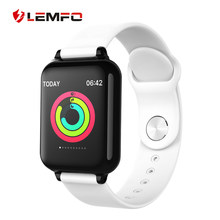 LEMFO Color Display Smart Watch Men IP67 Waterproof Heart Rate Monitor Smartwatch Women For Android IOS Apple Watch Phone(China)