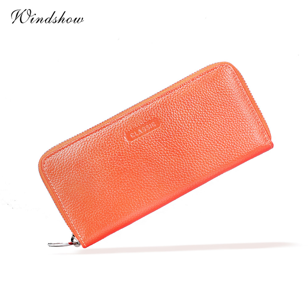 Cute Slices Watermelon White Leather Womens Zipper Wallets Clutch Coin Case
