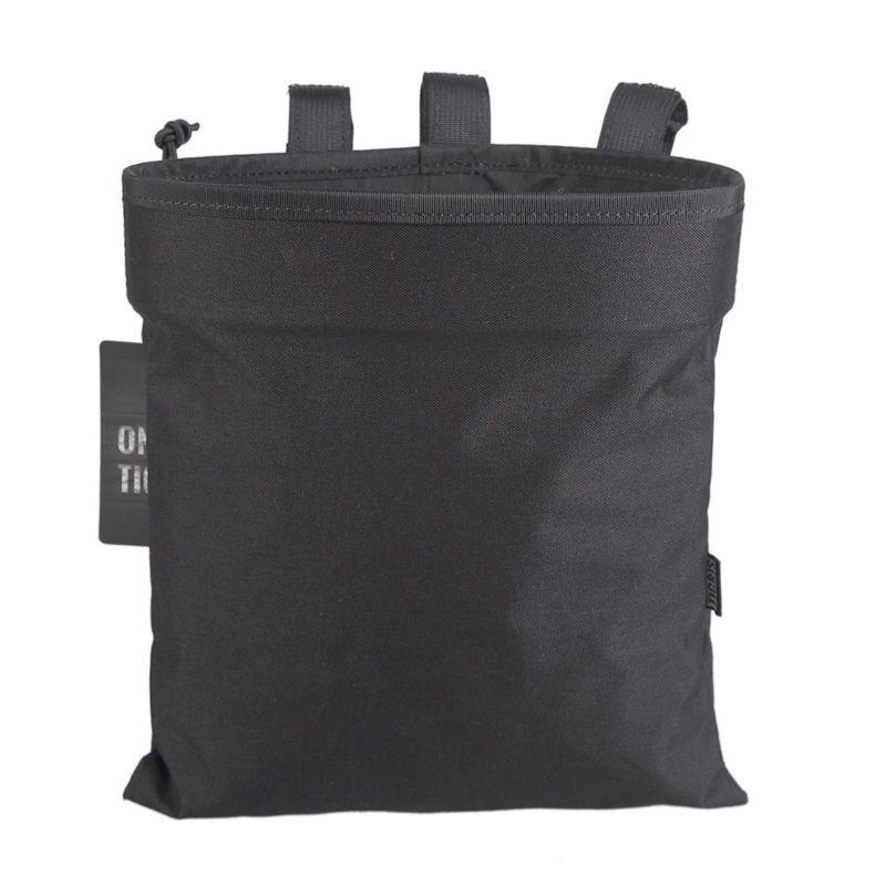 OneTigris Molle Tactical <font><b>Magazine</b></font> Pouch DUMP Drop Pouch Bag Recovery Pouch For Airsoft AR AK <font><b>Magazines</b></font>