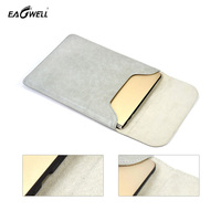 Universal PU Leather Laptop Sleeve Bag For Macbook Air 11 Pro 13 Laptop Case Simple Notebook