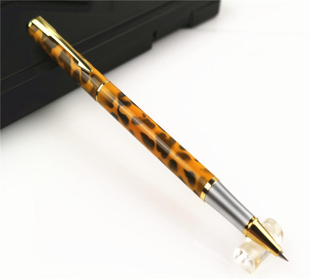 Baoer 801 Fashion Gloss Leopard Spots Rollerball Pen Office U0026 School Supplies  Stationery Best Gift