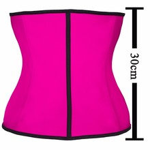 9 Steel Bone Shapewear Body Shapers Women Corset Slimming Belt Waist Shaper Cinta Modeladora Latex Waist Trainer Corset Cincher