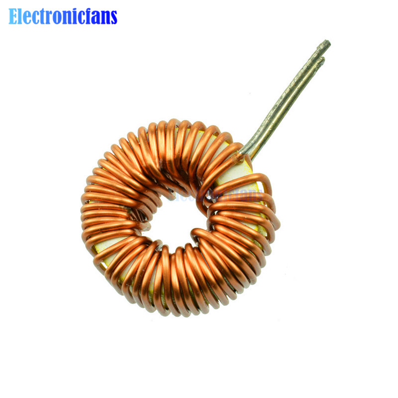 100uH 6A Toroid Core Inductor Wire Ring Wind Wound Inductance Coil for DIY