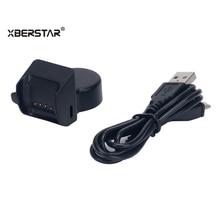 Cabo de Dados USB e Carregar Cardle XBERSTAR Carregador para TomTom Faísca Cardio/Faísca Cardio + Música/Runner 2 Cardio Relógio GPS