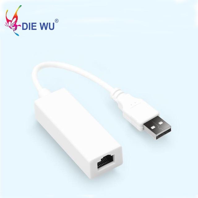 Mini USB 2.0 ethernet adaptörü USB için RJ45 Lan Ağ Kartı için Windows 10/8/7/XP