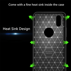 BSLIUFANG Luxury Shockproof Matte Cover For iPhone 6 7 8 Plus 6s TPU Leather Soft Case For Phone Case iPhone X XR XS Max Cover 5