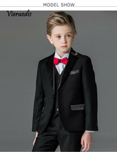 Custom Made Boys Formal Tuxedos Wedding Party Suits Kids Prom Suits Flower Suits 3 piece set pink boys suits groom wedding tuxedos page boy formal prom 2 piece kids suits