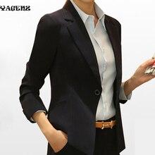 Leisure Lady Suits 2017New European Fashion Women Blazer Jacket Spring Autumn Black Long Sleeve Office Lady Suits Plus Size XXXL