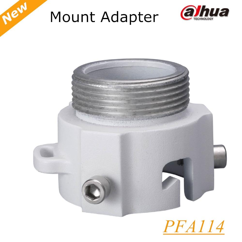 DAHUA Mount Adapter PFA114 IP Camera bracket CCTV Camera Bracket 100% original dahua mount adapter pfa110 ip camera bracket