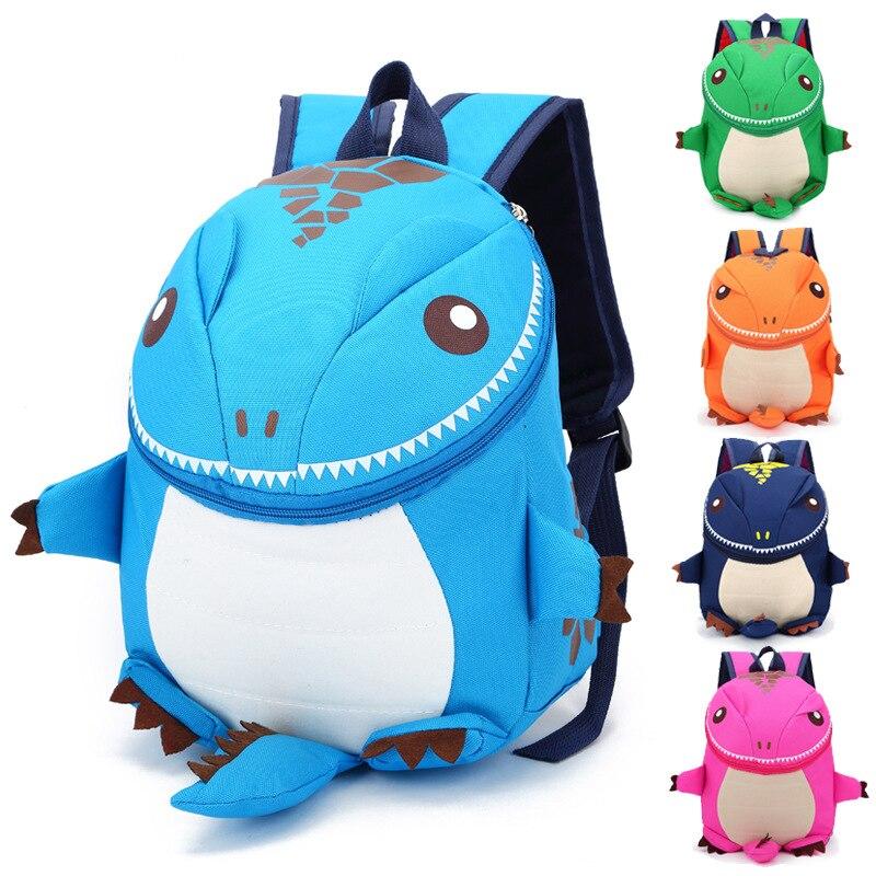 3D Dinosaur Backpack For Boys Children backpacks kids kindergarten Small SchoolBag Girls Cute animal prints Travel bags rucksack  unme children schoolbag for grade 1 3 girls backpack waterproof leather light for boy