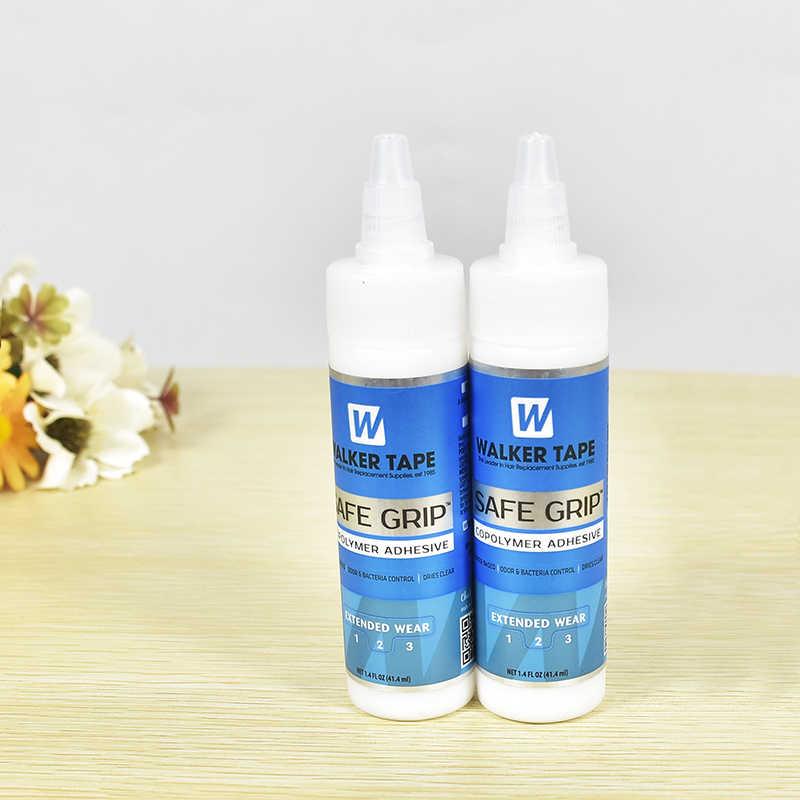 1 бутылка 41,4 FL. унц. 1,4 мл Walker клейкие ленты кружево парик силиконовые системы супер-клей Adhensive волос склейка клей