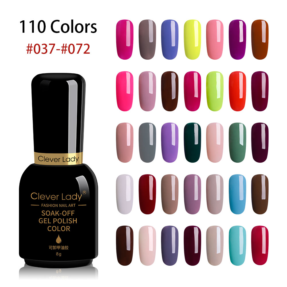 Clever Lady 110 colors uv gel nail polish led gel varnish