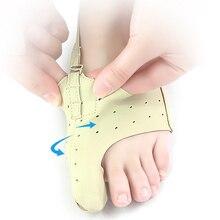 1pair Toe Separator Hallux Valgus Corrector Orthotics Feet Bone Thumb Adjuster Correction Pedicure Sock Straightener Foot Care