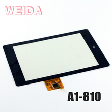 WEIDA 7 LCD Display For Acer Iconia A1 A1-810 LCD Display Touch Screen Assembly Replacement A1 810 B080XAT01.1