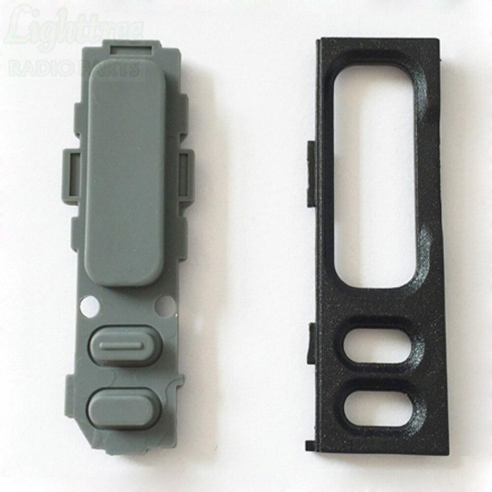 50setsX PTT կոճակը և PTT bezel- ը Motorola GP88 ռադիոյի 1380159S01 բեռնափոխադրման անվճար