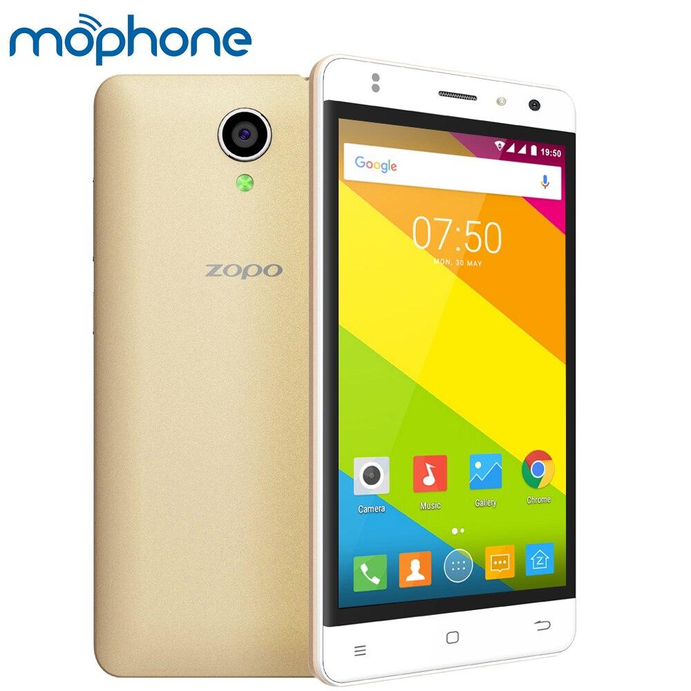 """Цена за Zopo c2 смартфон 3 г wcdma android 6.0 quad core mtk6580 5.0 """"экран 1 ГБ + 8 ГБ Две Камеры СВЕТОДИОДНОЙ Вспышкой Мобильный Телефон Сотовый телефон"""