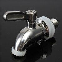 16mm New 304 Stainless Steel Spigot Faucet Keg Tap For Beverage Wine Beer Juice Dispenser Parts