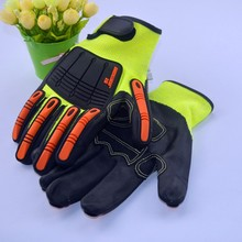 LC 1 piece TPR Tactical Working Cut resistant  Safety Glove self-defense supply Cut Resistant Gloves factory dieect supply