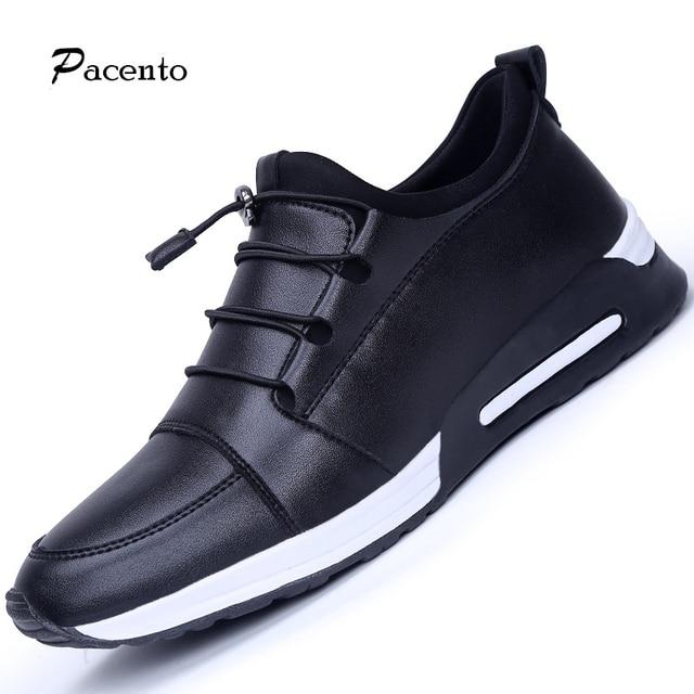 competitive price a9333 44706 US $43.12  PACENT Krasovki Male Shoes Keep Warm Men Casual Jogging Walking  Shoes Zapatillas Hombre De Moda Superstar Scarpe Donna Designer-in Men's ...