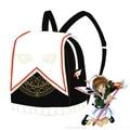 Аниме Card Captor Sakura KINOMOTO САКУРА Форма Рюкзак Магический Круг Книга Сумка Косплей