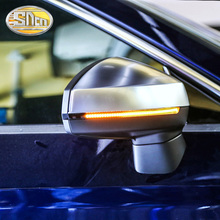 2Pcs LED Turn Signal Rear View Mirror Light Flowing For Audi A4 B7 B8 B9 A5 A6 A3 S3 RS3 Q3 Q5 Q7 A7