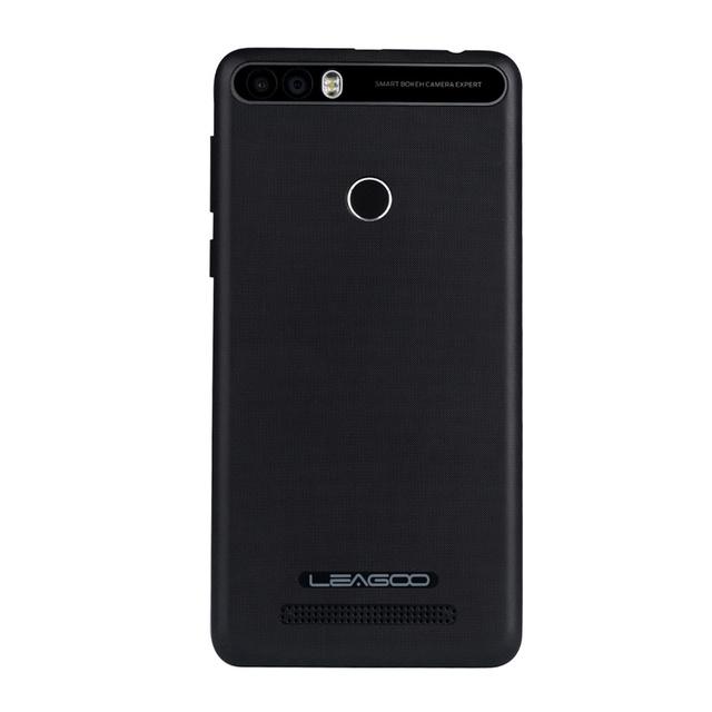 "Leagoo Kiicaa Power 4000mAh Mobile Phone 5.0"" HD MT6580A Quad Core Android 7.0 2GB RAM 16GB ROM 8.0MP Dual Back Camera"