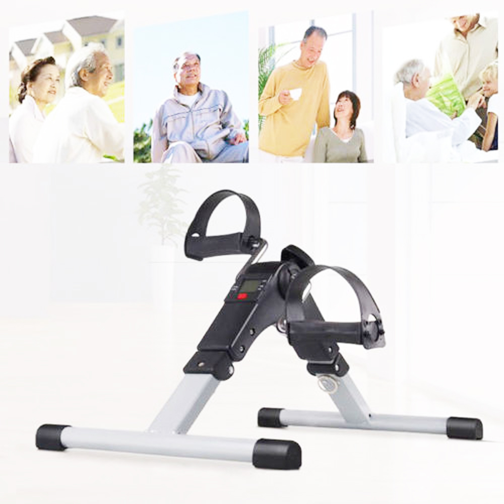 Home Mini Therapy Bike Physiotherapy Rehabilitation Limbs Exercise Gym Machine Health Recovery Old Sick People Diabetes Patient upper lower limbs physiotherapy rehabilitation exercise therapy bike for serious hemiplegia apoplexy stroke patient lying in bed