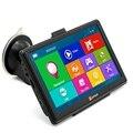 HOT SALE 7 polegada Tela Capacitiva de Navegação GPS Do Carro WinCE 6.0 GPS Do Carro Navegador De Navegação Multi-media Player com Mapas gratuitos