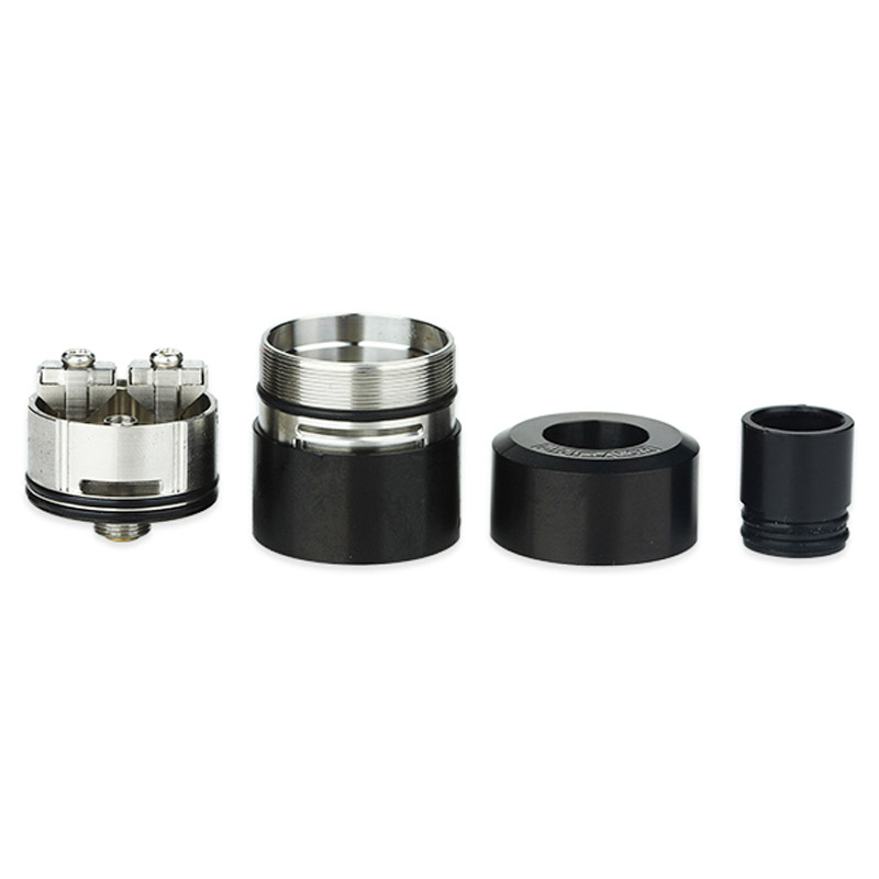 Original Digiflavor LYNX RDA Tank 25mm Atomizer with Leaking Proof Design & Side Airflow Control for MTL Vape E-cigarette Tank