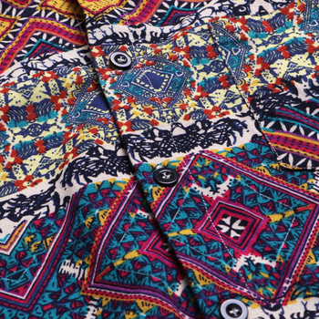 Psychedelic Short Sleeve Shirt