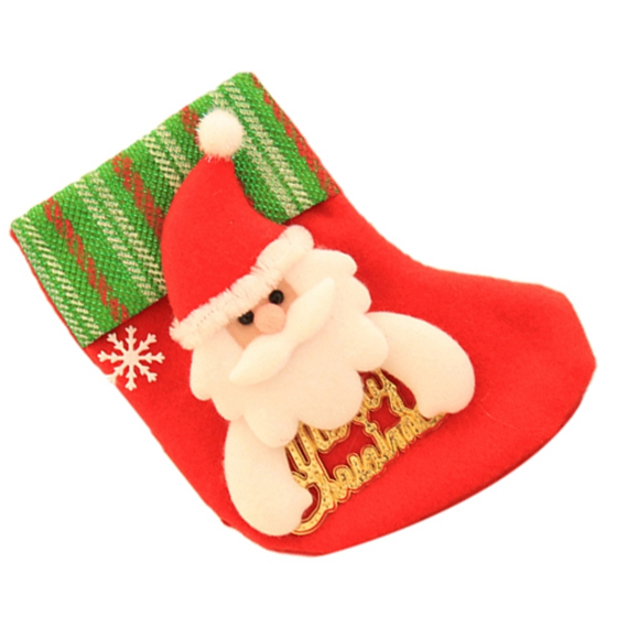 Letter Christmas Stockings.Us 1 02 Tfbc Christmas Socks Christmas Socks Tree Pendant Christmas Decorations Old Man Letter Red In Stockings Gift Holders From Home Garden On