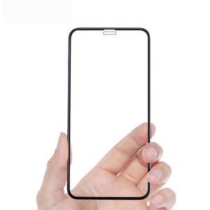Image 2 - 1000pcs Full Cover XS max Tempered Glass Screen Protector For iPhone XS Screen Protective film whole glue glass on iphoneXs