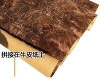 L 2 5Meters Width 60cm Thickness 0 25mm Natural Black Walnut Tree Pomegranate Wood Veneer