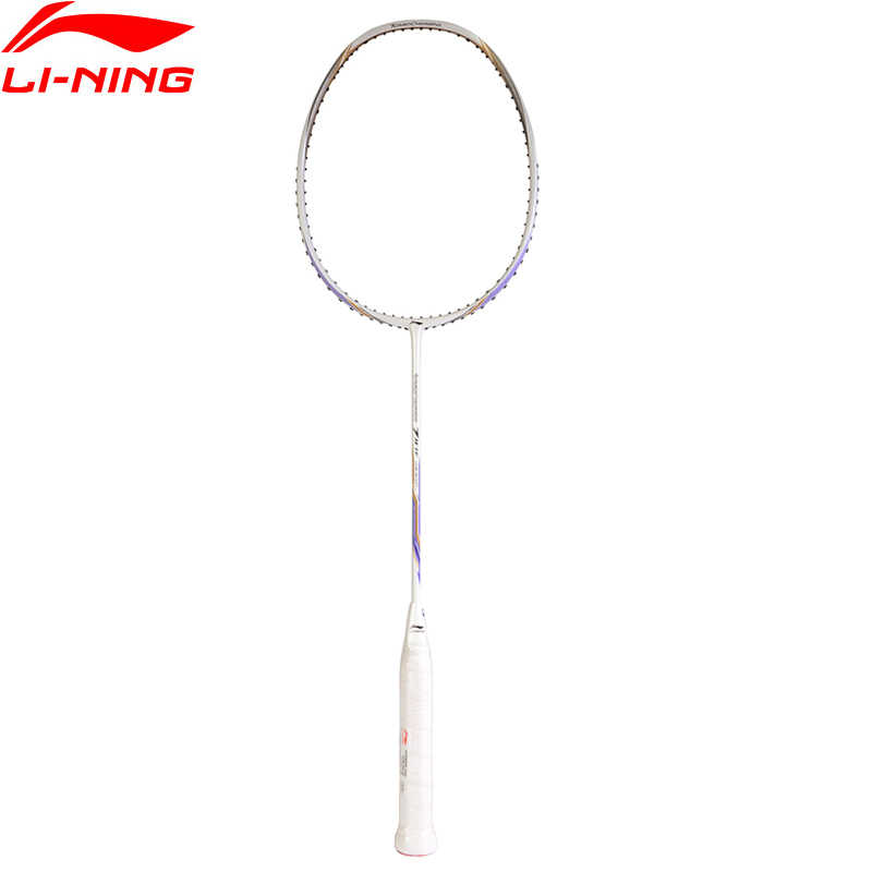 Li-Ning Turbo Charging 7II TF Professional Badminton Racket Single Racket LiNing Equipment Sports Racket AYPM326 EAMJ18