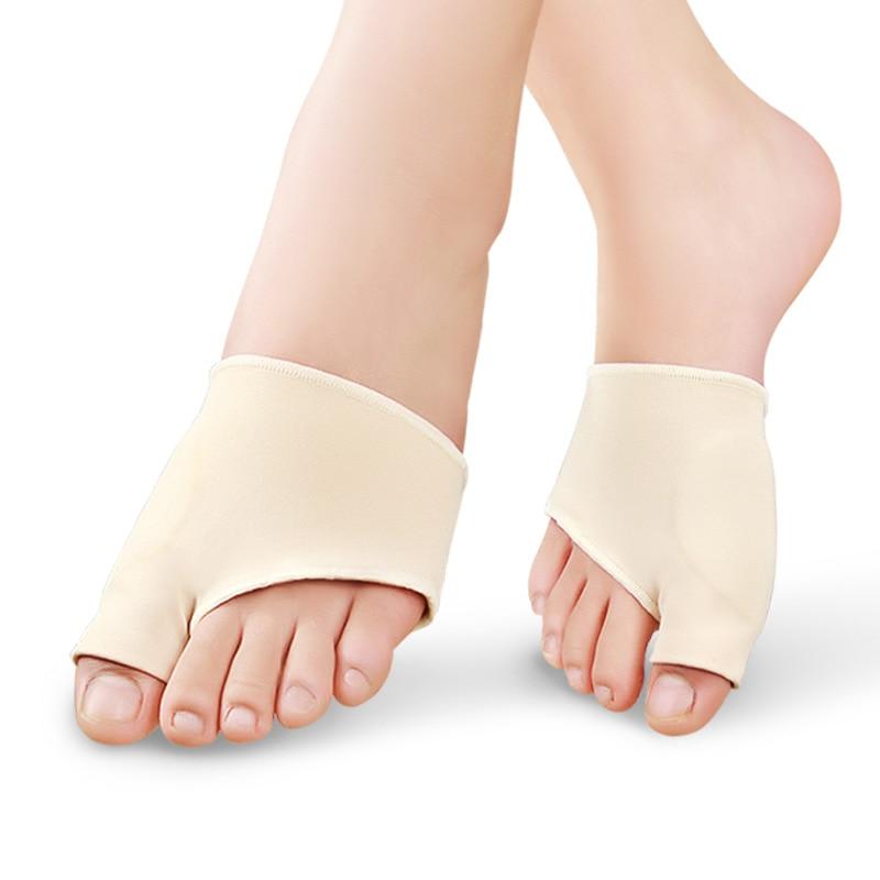 1 Pair Bunion Corrector Silicone Gel Sleeve Hallux Valgus Overlapping Big Toe Orthopedic Toes Separator Pedicure Socks Foot Tool