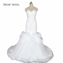 DREAMY BRIDAL Luxury Wedding Dresses Sweep Train