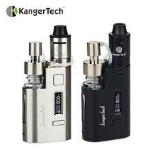 Original 80w Kanger DripEZ Starter Kit Box Vape Mod w/ Pump And Push RBA 0.3Ohm Drip coil 0.2Ohm Drip EZ Kit E Cigarettes