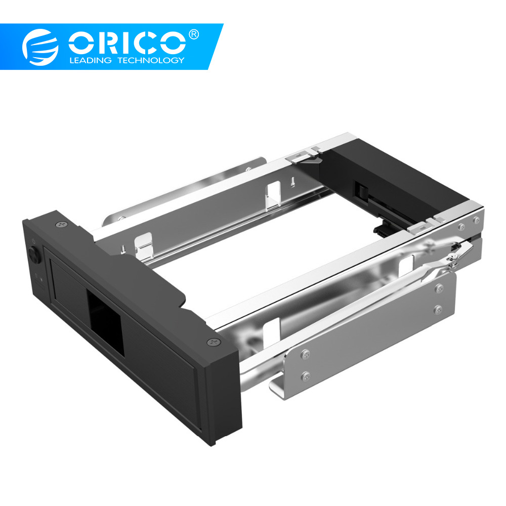 ORICO CD-ROM espacio HDD Mobile Rack interno de 3,5 pulgadas de disco duro convertidor de carcasa-negro (1106SS-BK)