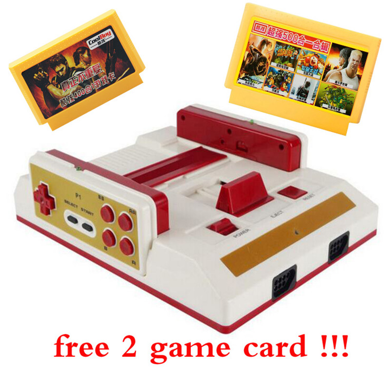 201 Video Game Console To TV With Wireless Gamepad Controller HD HDMI TV Out For 8bit Family TV game +500 in1 400 In1 game card